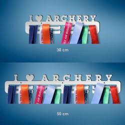 I love archery - Držači za Medalje